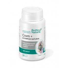 Crom + B Complex Natural, 30 capsule