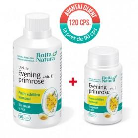 EVENING PRIMROSE+VITAMINA E 90CPS.+30CPS. GRATIS
