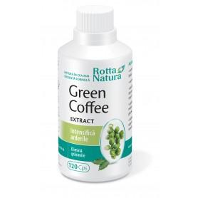 Cafea Verde Extract, 120 capsule Rotta Natura