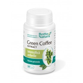 Cafea Verde Extract, 60 capsule Rotta Natura