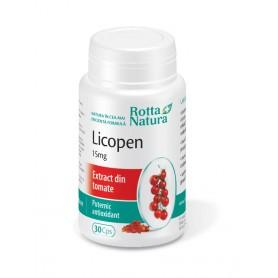 Licopen, 15Mg 30 capsule Rotta Natura