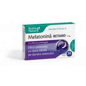 Melatonina Retard, 5Mg 30 tablete Rotta Natura