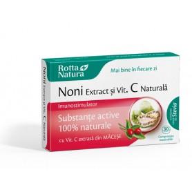 NONI EXTRACT+ Vitamina C naturala - 30 cpr masticabile