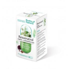 Resveratrol + Coenzima Q10, 30 capsule Rotta Natura