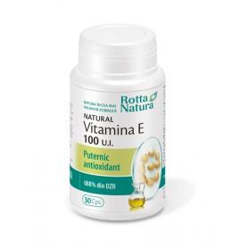Vitamina E Naturala, 400UI 30 capsule Rotta Natura