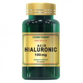 Acid Hialuronic, 100Mg 30 tablete Cosmo Pharm
