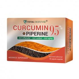Curcumin + Piperine 95%, 30 capsule Cosmo Pharm