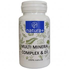 Multi Mineral Complex si D3, 60 capsule