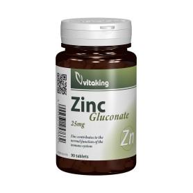 GLUCONAT DE ZINC 30MG - 90 COMPRIMATE