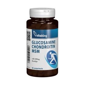 GLUCOSAMINE, CHONDROITINE MSM - 120 COMPRIMATE