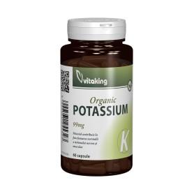 Potasiu, 99Mg 60 capsule Vitaking