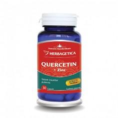 Quercetina + Zinc, 30 cps Herbagetica
