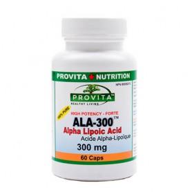 Acid Alfa Lipoic 300MG,60CPS (ALA-300)