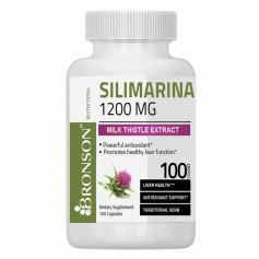 MILK THISTLE (SILIMARINA) 1200 mg  100 capsule