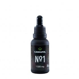 Ulei de Canabis CBD, No.1 5%, 30g Cannapol