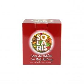 Ceai de Slabit cu Goji Berry, 40g Solaris