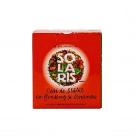 Ceai de Slabit cu Ginseng si Ananas, 20 plicuri Solaris