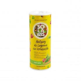 Belsug de Legume cu Verdeata, 100g Tub -Condimente Solaris