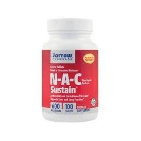 N-A-C SUSTAIN 600MG 100CPS y6