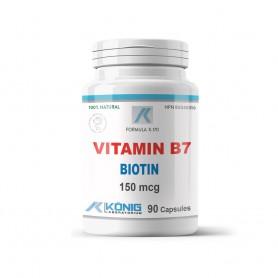 Vitamina B7, Biotin 150mcg 90cps  Provita