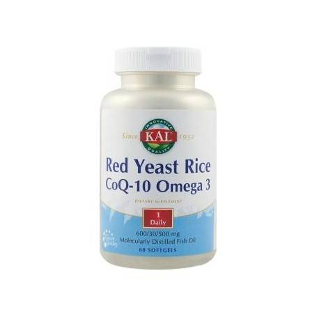 RED YEAST RICE COQ-10 OMEGA3 60CPS