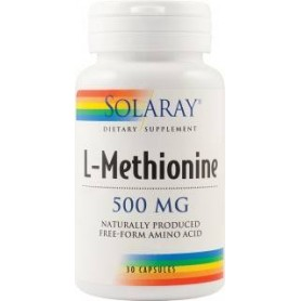 L-METHIONINE 500MG 30CPS