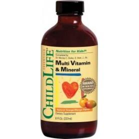 Multi Vitamine si Minerale, pentru Copii, 237 ML
