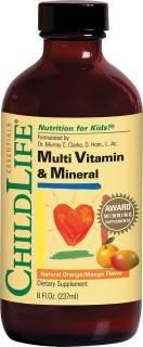 multi vitamin mineral 237ml