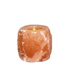 Candela din Cristale de Sare Naturale, 1-1.5Kg Monte Salt Crystal
