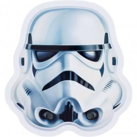 Farfurie melamina Star Wars Stormtrooper Lulabi 8340400-S Initiala