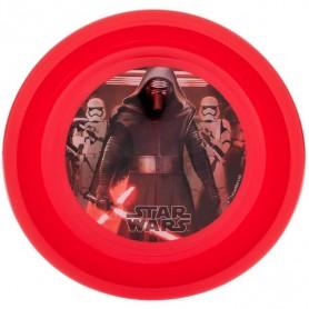 Farfurie adanca plastic Star Wars Lulabi 8340502 Initiala