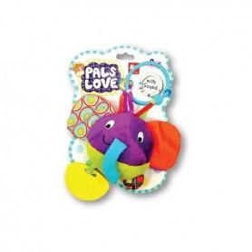 Jucarie zornaitoare Micul Elefant MG Love to Play 403092E Initiala