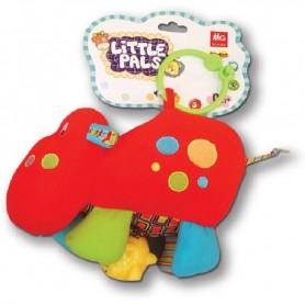 Jucarie zornaitoare Hipopotam MG Love to Play 403113 Initiala