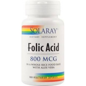 ACID FOLIC 800 MCG 100CPS