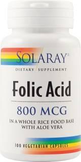 acid folic 800 mcg 100cps