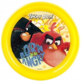 Farfurie plastic Angry Birds Lulabi 8161001 Galben