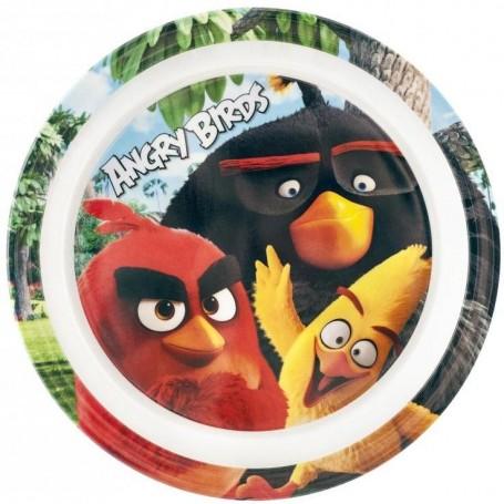 Farfurie melamina Angry Birds Lulabi 8161501 Initiala