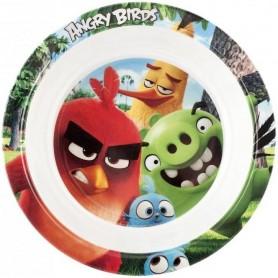 Farfurie adanca melamina Angry Birds Lulabi 8161502 Initiala