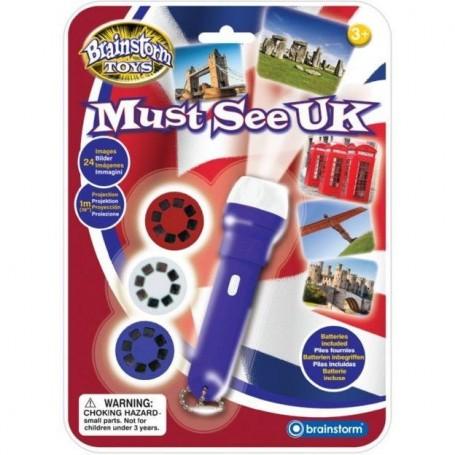 Proiector obiective turistice Marea Britanie Brainstorm Toys E2044 Initiala