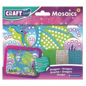 Kit Mozaic Mini Dragon Brainstorm Toys C7004 Initiala