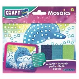 Kit Mozaic Mini Delfin Brainstorm Toys C7006 Initiala