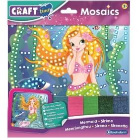 Kit Mozaic Sirena Brainstorm Toys C7053 Initiala