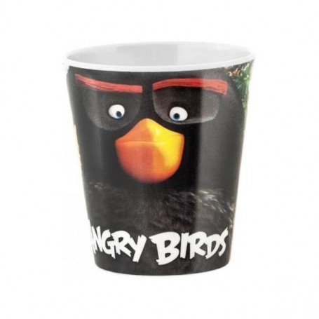 Pahar melamina Angry Birds Lulabi 8161567 Initiala