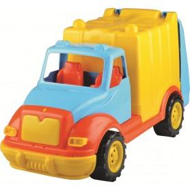 Camion pentru gunoi 48 cm Ucar Toys UC09 Initiala