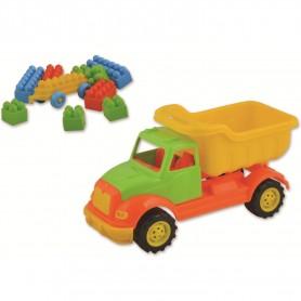 Autobasculanta 30 cm cu 36 piese constructie Ucar Toys UC103 Initiala