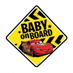Semn de avertizare Baby on Board Cars Seven SV9610 Initiala