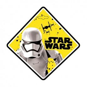 Semn de avertizare Baby on Board Star Wars Stormtrooper Seven SV9624 Initiala
