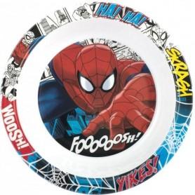Farfurie adanca melamina Spider-Man Lulabi 7939502 Initiala