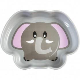 Farfurie adanca plastic Elefant Lulabi 7972902 Initiala