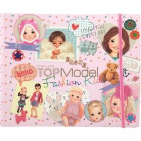 Creatia ta de moda pentru copii Top Model Depesche PT7981 Initiala